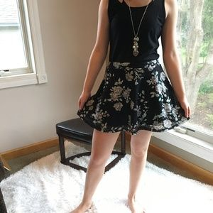 EUC Floral Aeropostale Skirt